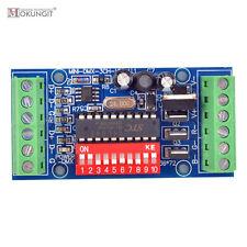 mini 3CH 3 channels Easy dmx LED Controller Dimmer RGB dmx512 decoder DC5V-24V