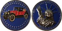 "New York Police Department Automotive Crimes challenge coin 2"" 53"