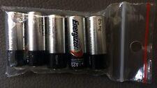 5 Energizer Alkaline Batterie 23A 12V Volt p23ga 8LR932 Mn21 V23GA A23 Ø10