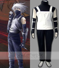 Custom Made Naruto Kakashi Anbu 1st Cosplay Costume Full Set Halloween Men Suit