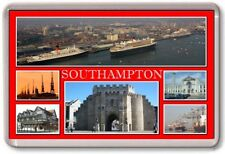 FRIDGE MAGNET - SOUTHAMPTON - Large - Hampshire TOURIST