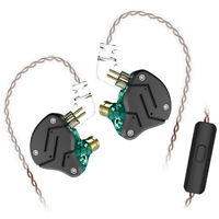 KZ ZSN Wired Noise Isolating In Ear Super Bass HIFI Hybrid Earphones Headphone
