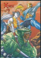 2009 X-Men Archives Trading Card #60 Starjammers