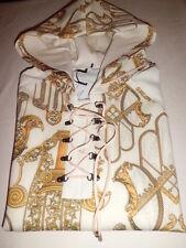 Versace Collection Felpa con Cappuccio Mano di Fatima Size L