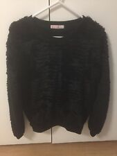 Supre Small Black Fluffy Jumper