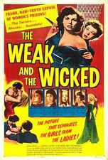 Weak And Wicked Poster 01 A2 Box Canvas Print