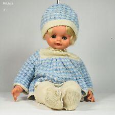 """Bambolotto Cicciobello Bambola capelli biondi occhi azzurri doll vintage """"70-0R2"""