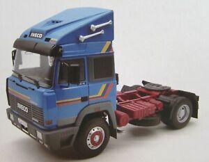 Iveco Turbo Star 1988 blau Zugmaschine Truck 1:18 - Road Kings RK180072