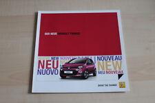 94094) Renault Twingo Prospekt 08/2011