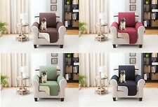 SLIPCOVER REVERSIBLE CHAIR PET DOG FURNITURE COUCH PROTECTOR COVER, 1800 COUNT