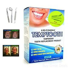 Temptooth Do It Your Self Oral Dental Replacement Product Emergency Care Kits