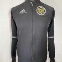 Adidas Columbus Crew MLS Soccer Football 2016 Black Trackie Track Top S PLS READ
