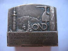 Distintivi Varese Fascismo Ond 1928 1a Adunata Lago D'Elio Old Fascist Badges