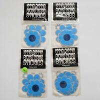 Rickie Tickie Stickies Blue Flower Sticker Lot 4 Packs Sealed VW Van Decor