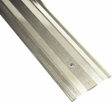 CARPET METAL WIDE COVER GRIP COVER STRIP DOOR BAR TRIM - THRESHOLD SILVER 900MM