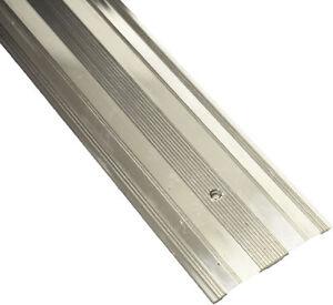 Extra Wide Cover Strip Carpet Metal Door Bar Trim - Threshold - Silver 900mm