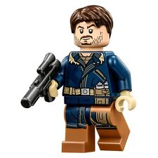 LEGO STAR WARS Rogue One Cassian Andor MINIFIG from Lego set 75155 Brand New