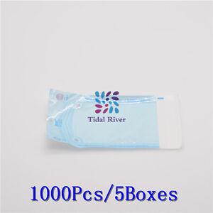 1000* SELF-SEALING STERILIZATION POUCHES Sterilization For Dental Lab 90*165mm