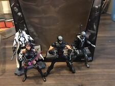 Marvel Legends SDCC 2012 Uncanny X-Force PSYLOCKE Wolverine Deadpool Fantomex