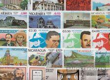 Nicaragua 100 verschiedene Sondermarken