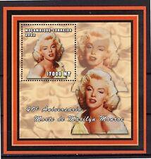2002 MOZAMBIQUE -40° Aniversário Morte de Marilyn Monroe - bloco192 -MNH #4050