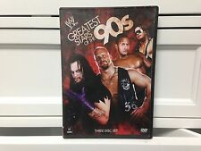 ** WWE Greatest Stars of the 90s (DVD, 2009, 3-Disc Set) ~ Free Shipping!  (E)