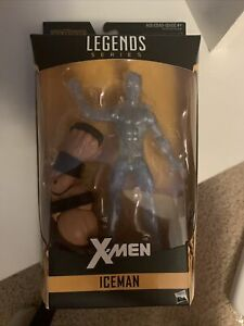 "Marvel Legends Iceman 6"" Action Figure Brand New Juggernaut BAF Series X-Men"