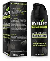 EYELIFT Anti-aging Anti-falten Vegan Bio Dunkle Ringe Serum für Gesicht-Haut