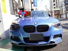 CARBON FRONT LIP SPOILER 3D STYLE FOR BMW F20 M135  M TECH M SPORTS BUMPER