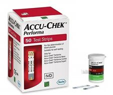 Accu-chek Performa Test Strips Glucose Monitoring 50 100 150 200 250 300