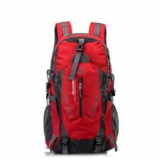 92090a46ed49 Large 40l Waterproof Backpack Rucksack Bag Luggage Camping Outdoor Hiking  Travel Red