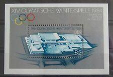DDR Briefmarken 1983 Block 74 Olympische Winterspiele Postfrisch