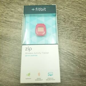 New Fitbit Zip Wireless Activity Tracker FB301M Magenta