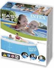 INTEX Piscinette Easy Set autoportante 1,83x0,51 m Piscine parfaite pour enfants
