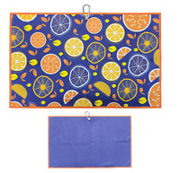 Oranges & Lemons Cart Golf Towel