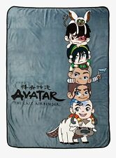AVATAR: THE LAST AIRBENDER CHIBI CHARACTERS THROW BLANKET