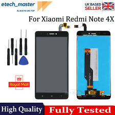 LCD Display For Xiaomi Redmi Note 4X Black Screen Touch Digitizer Replacement UK