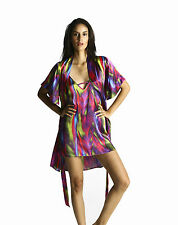 pjMe Fuchsia Silk Robe - Women's sleepwear kimono sleep robe bed gown