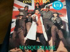 """MASQUERADE - One Nation  (UK 7"""" SINGLE VINYL)"""