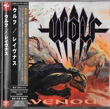 Wolf Ravenous (+1 bonus track) JAPAN CD OBI/Iron Maiden Heavy Load Dream Evil