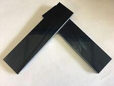 """Kirinite: Negro Mágico Perla 1/4"""" escalas de 6"""" X 1.5"""" para madera, cuchillo haciendo en funcionamiento"""