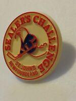 Sealer's Challenge Lapel Pin, St. John's Newfoundland Canada Pin Hockey DR3