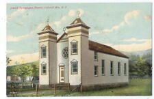 HUNTER NY JEWISH SYNAGOGUE - Catskill Mountains - ca1910 Postcard