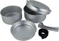5Pcs Outdoor Camping Hiking Cookware Picnic Cooking Bowl Pot Pan Cook Set