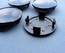 4x Nabenkappen Felgendeckel 66,0 mm  56,0 mm für Alufelgen schwarz V66 S