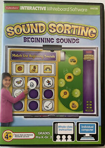 Lakeshore Interactive Whiteboard Software (HH736) Sound Sorting Beginning Sounds