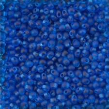 Miyuki Drop Seed Beads DP-9149F Matte Transparent Capri Blue 3.4mm 25g (D92/9)