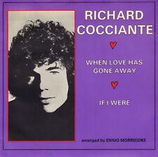 "RICCARDO COCCIANTE – When Love Has Gone Away (1975 VINYL SINGLE 7"" HOLLAND)"