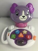 Leap Frog My Talking Violet Puppy Learning Laptop Working (109)