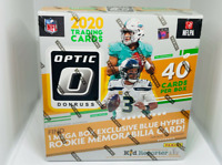 2020 DONRUSS OPTIC NFL FOOTBALL MEGA BOX BURROW TUA HERBERT RC WALMART BLUE 40